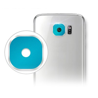 Hat-Prince Rear Camera Lens Cover Protector for Samsung Galaxy S6 / S6 Edge Metal Material