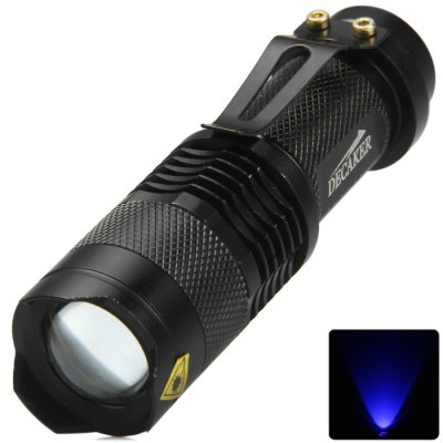DECAKER SK68 395nm Zooming LED Flashlight