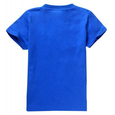 Fashionable Round Neck Short Sleeve Cartoon 3D Print T-Shirt For BoyBoys Clothing<br>Fashionable Round Neck Short Sleeve Cartoon 3D Print T-Shirt For Boy<br><br>Material: Cotton Blends<br>Sleeve Length: Short<br>Collar: Round Neck<br>Style: Fashion<br>Embellishment: Pattern<br>Pattern Type: Character<br>Weight: 0.132KG<br>Package Contents: 1 x T-Shirt
