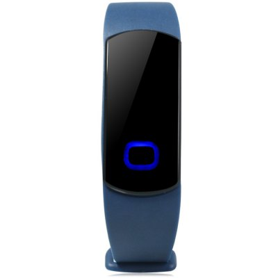 SH08 Blue LED Smart WristbandSmart Wristband<br>SH08 Blue LED Smart Wristband<br><br>Bluetooth version: Bluetooth 4.0<br>People: Unisex table<br>Waterproof: YES<br>Waterproof rating: IP67<br>Colors: Blue, Black<br>Screen: NO<br>Battery type: Polymer lithium battery<br>Battery capacity: 45mAh<br>Standby time: 25 - 30 days<br>Compatible OS: Android, iOS<br>Compatability: Android 4.3 / iOS 7.0 and above system<br>Language: English<br>Functions: Alarm clock, Call reminder, Pedometer, Sleep management<br>Alert type: Vibration<br>Case material: PC<br>Band material: TPU<br>The dial thickness: 0.6 cm / 0.24 inches<br>The dial diameter: 4.0 x 1.7 cm / 1.57 x 0.67 inches<br>The band width: 1.1 cm / 0.43 inches<br>Wearable length: 15.5 - 22.5 cm / 6.10 - 8.86 inches<br>Product weight: 0.011 kg<br>Package weight : 0.081 kg<br>Product size (L x W x H): 24 x 4 x 0.6 cm / 9.43 x 1.57 x 0.24 inches<br>Package size (L x W x H): 12.7 x 8.7 x 3.2 cm / 4.99 x 3.42 x 1.26 inches<br>Package contents: 1 x SH08 Smart Wristwatch, 1 x Chinese and English Manual, 1 x USB Charging Dock