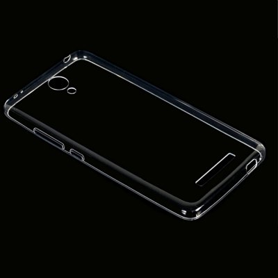 ФОТО Transparent TPU Back Protective Cover Case for XiaoMi RedMi Note 2