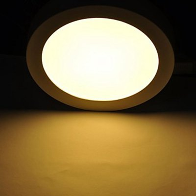 24W 1600Lm 120 x SMD 2835 LED Ceiling Lamp - Round
