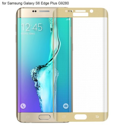 Angibabe Tempered Glass Screen Protector Film for Samsung S6 Edge Plus