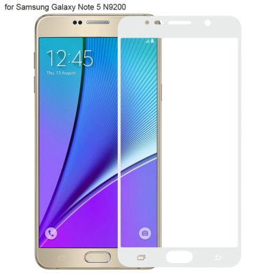 Angibabe Tempered Glass Screen Protector Film for Samsung Galaxy Note 5 N9200
