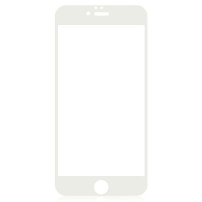 ФОТО Angibabe Tempered Glass Screen Protector Film for iPhone 6 Plus Color Screen Printing Process 9H 0.3mm Ultra-thin