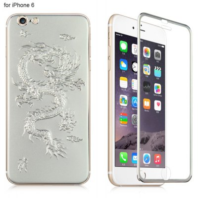 Angibabe 2 in 1 Protector Film Kit for iPhone 6