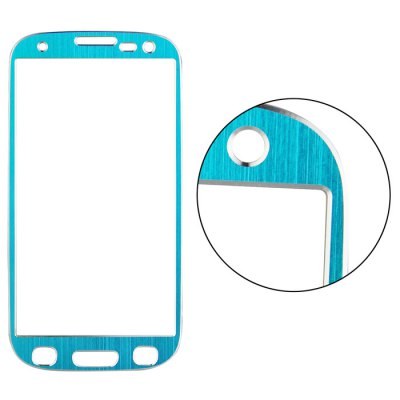ФОТО Angibabe Tempered Glass Screen Protector Film for Samsung Galaxy S3 I9300 Ti Alloy Brushed Design 0.3mm Thickness Ultra-thin