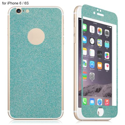 Angibabe Tempered Glass Front and Back Protector Film for iPhone 6 / 6S