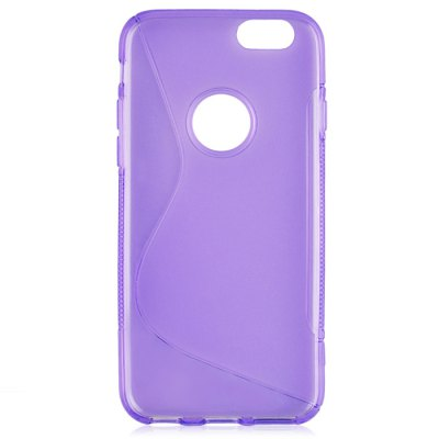 Фотография Angibabe Phone Back Case Protector for iPhone 6 / 6S TPU Material with Round Hole S Design