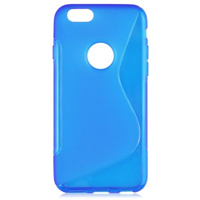 Фотография Angibabe Phone Back Case Protector for iPhone 6 / 6S Plus TPU Material with Round Hole S Design