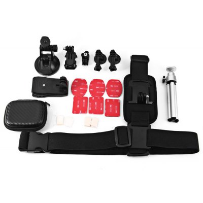 CP-GP292 12-in-1 Accessory Kit for Action Camera