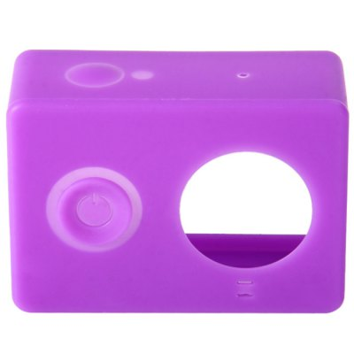 Silica Gel Case with Lens Cover for Xiaomi Yi Action Camera