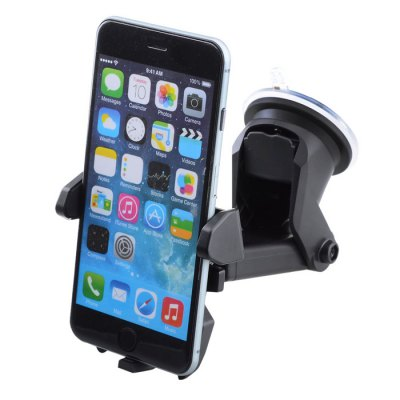 Windshield Dashboard Car Holder Phone Stand with Sucker Adjustable Easy Installation