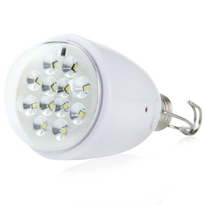 Dimmable 12 LED E27 Solar Lamp Remote Control Light