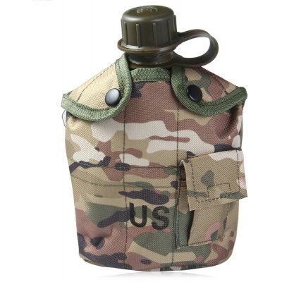 US Camouflage Military Water Canteen 1L