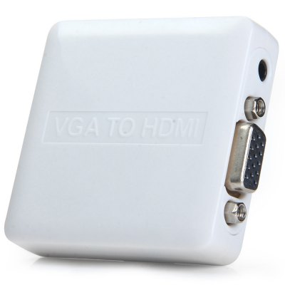 HDCVGA01-N Mini VGA R / L Audio to HDMI 1080P Converter for HDTV
