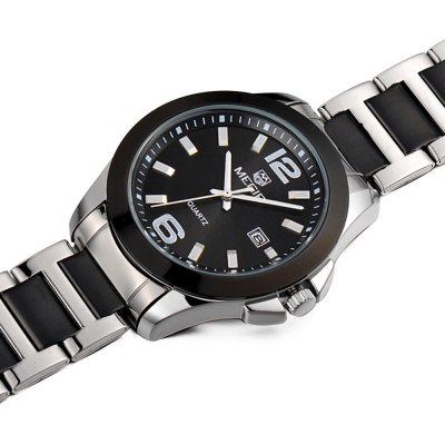 MEGIR 5006G Date Display Male Quartz Watch - MEGIRMens Watches<br>MEGIR 5006G Date Display Male Quartz Watch<br><br>Brand: MEGIR<br>Watches categories: Male table<br>Watch style: Business<br>Available color: Black, Gold<br>Movement type: Quartz watch<br>Shape of the dial: Round<br>Display type: Analog<br>Case material: Alloy<br>Band material: Stainless steel<br>Clasp type: Folding clasp with safety<br>Special features: Date<br>Water resistance: 30 meters<br>The dial thickness: 1.1 cm<br>The dial diameter: 4.0 cm<br>The band width: 2.0 cm<br>Wearable length: 24cm<br>Product weight: 0.105 kg<br>Package weight: 0.155 kg<br>Product size (L x W x H): 24 x 4 x 1.1 cm / 9.43 x 1.57 x 0.43 inches<br>Package size (L x W x H): 25 x 5 x 2 cm / 9.83 x 1.97 x 0.79 inches<br>Package contents: 1 x MEGIR 5006G Watch
