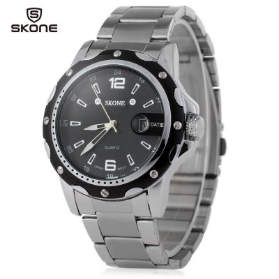 SKONE 7147 Male Calendar Luminous Men Watch