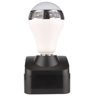 BL-05 Bluetooth Smart LED BulbSmart Lighting<br>BL-05 Bluetooth Smart LED Bulb<br><br>Base Type: E27<br>Voltage: AC100-240V<br>Color Temperature: TC = 6520K<br>Bluetooth Version: Bluetooth 4.0<br>Wireless Distance: No obstacle 10M<br>Features: Loudspeaker, Remote Controlled<br>Function: Home Lighting,Outdoor Rated,Wall Mounted<br>Product Weight: 0.157 kg<br>Package Weight: 0.381 kg<br>Product Size  ( L x W x H ): 14.20 x 7.10 x 7.10 cm / 5.58 x 2.79 x 2.79 inches<br>Package Size ( L x W x H ): 20.00 x 9.50 x 9.80 cm / 7.86 x 3.73 x 3.85 inches<br>Package Contents: 1 x BL-05 Bluetooth Color Changing LED Light Bulb with Speaker, 1 x  Lampholder
