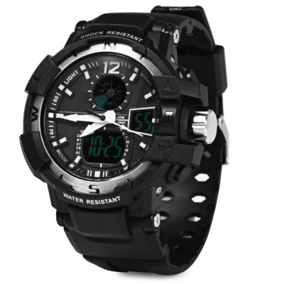 Skmei 1040 Army LED Dual-movt Wristwatch