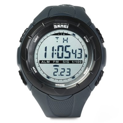Skmei 1025 Multi - function LED Military Army Watch 50M Water Resistant for Sports