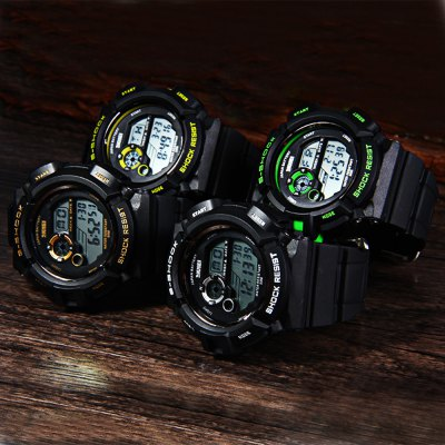 Skmei 0939 Multifunction Sports LED Watch 50M Water Resistant от GearBest.com INT