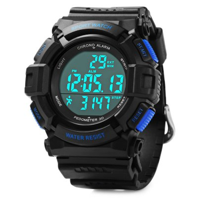 Skmei 1116 Pedometer Water Resistant Digital Watch