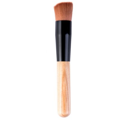 Makeup Foundation Powder Professional Wooden Handle Brush