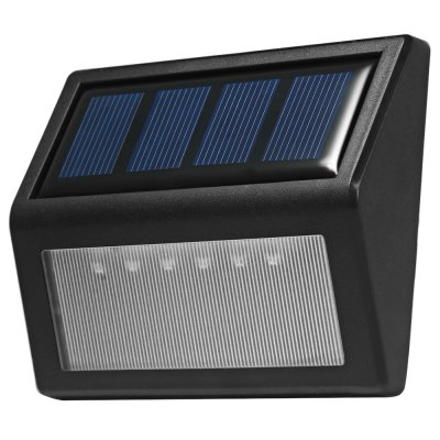 Фотография 2pcs 6-LED Light Control Solar Garden Lamp