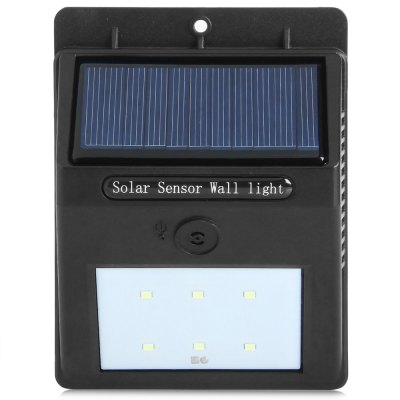 ФОТО YY - 604 Solar Sound Light Control Two-mode Light
