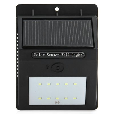 ФОТО YY - 6104 Solar Sound Light Control Two-mode Light