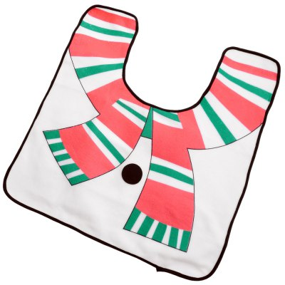 Bathroom Toilet Seat Covers with Christmas Snowman Pattern