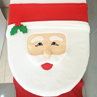 3pcs Fancy Santa Tiolet Seat Cover and RugChristmas Supplies<br>3pcs Fancy Santa Tiolet Seat Cover and Rug<br><br>Material: Flannel<br>For: All<br>Usage: Christmas<br>Color: Multi-Color<br>Product weight: 0.240 kg<br>Package weight : 0.248 kg<br>Package size (L x W x H): 35 x 37 x 4 cm / 13.76 x 14.54 x 1.57 inches<br>Package Contents: 1 x Santa Claus Toilet Seat Cover, 1 x Rug, 1 x Tank Cover with Tissue Box Cover