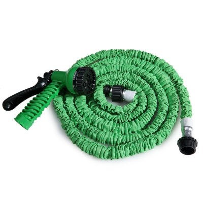 25FT Expandable Garden Water Hose Pipe with 7 in 1 Spray GunWatering &amp; Irrigation<br>25FT Expandable Garden Water Hose Pipe with 7 in 1 Spray Gun<br><br>Color: Blue,Green,Orange<br>Package Contents: 1 x 25FT Expandalble Garden Hose Wate Pipe with 7 Modes Spray Gun, 1 x Spray Gun, 1 x English Manual<br>Package size (L x W x H): 21.00 x 20.00 x 5.00 cm / 8.27 x 7.87 x 1.97 inches<br>Package weight: 0.3400 kg<br>Product size (L x W x H): 240.00 x 12.00 x 5.50 cm / 94.49 x 4.72 x 2.17 inches<br>Product weight: 0.2900 kg
