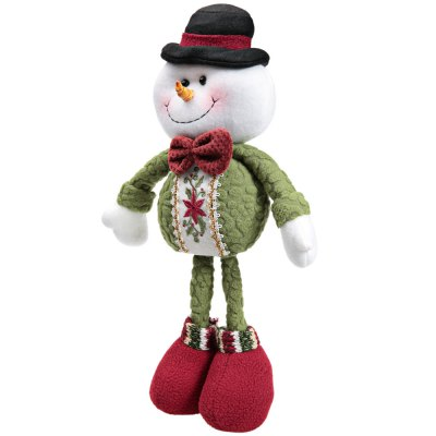 Christmas Toy Doll Standing Snowman Doll