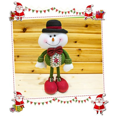 Christmas Standing Snowman Doll
