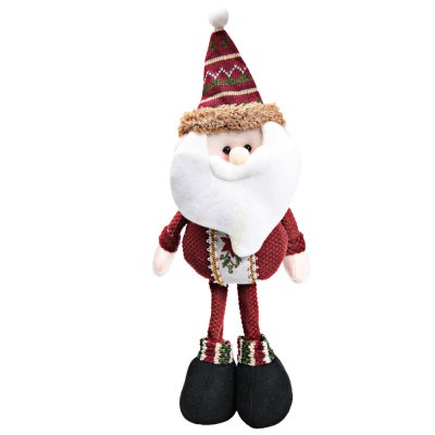 Christmas Toy Doll Standing Santa Claus Doll