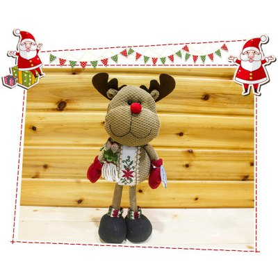 Christmas Standing Deer Doll