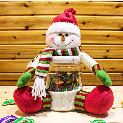Snowman Candy Jar for Christmas Gift