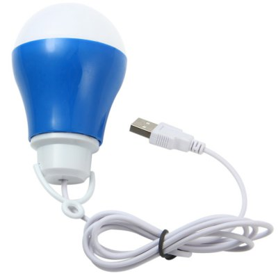 Portable 700Lm 10 x SMD 5730 LED White Light USB Ball Bulb for for Mobile Powerbank Computer Cellphone Outdoor ActivityLED Light Bulbs<br>Portable 700Lm 10 x SMD 5730 LED White Light USB Ball Bulb for for Mobile Powerbank Computer Cellphone Outdoor Activity<br><br>Type: Ball Bulbs<br>Output Power: 7W<br>Total Emitters: 10 LEDs<br>Actual Lumen(s): 700Lm<br>Appearance: USB Port<br>Features: Energy Saving, Low Power Consumption, Long Life Expectancy<br>Function: Home Lighting, Studio and Exhibition Lighting<br>Available Light Color: Cold White<br>Sheathing Material: Plastic<br>Product Weight: 0.055 kg<br>Package Weight: 0.12 kg<br>Product Size (L x W x H): 5.5 x 5.5 x 8.5 cm / 2.17 x 2.17 x 3.35 inches<br>Package Size (L x W x H): 11 x 7.5 x 7.5 cm<br>Package Contents: 1 x USB Ball Bulb