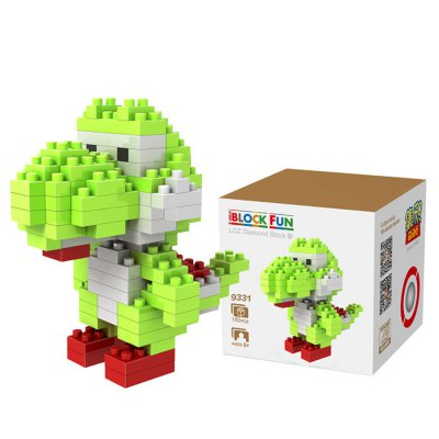 LOZ 130Pcs M - 9331 Super Mario Yoshi Building Block Educational Toy for Spatial Thinking