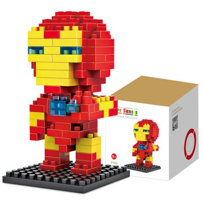 LOZ 130Pcs M - 9158 Iron Man Building Block Educational Assembling Boy Girl Gift for Sparking Imagination