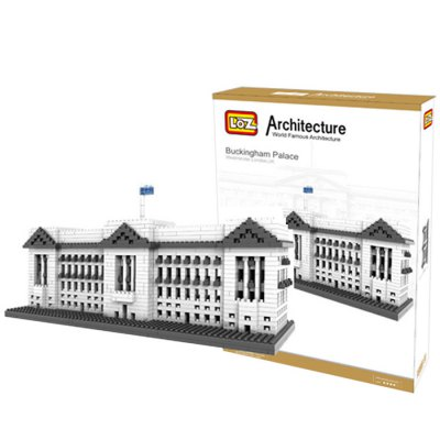 LOZ 1540Pcs 9374 Buckingham Palace Building Block Educational Toy for Cooperative Ability - World Great Architecture Series