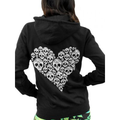 Chic Hooded Long Sleeve Skull Pattern Womens HoodieWomens Hoodies &amp; Sweatshirts<br>Chic Hooded Long Sleeve Skull Pattern Womens Hoodie<br><br>Material: Polyester<br>Clothing Length: Regular<br>Sleeve Length: Full<br>Style: Fashion<br>Pattern Style: Skulls<br>Weight: 0.70KG<br>Package Contents: 1 x Hoodie