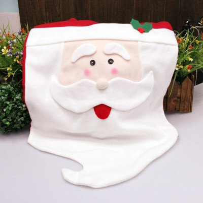 Mr Santa Claus Chair Back Cover for ChristmasChristmas Supplies<br>Mr Santa Claus Chair Back Cover for Christmas<br><br>Material: Nonwoven<br>For: All<br>Usage: Christmas,Party<br>Color: Red<br>Product weight: 0.046KG<br>Package weight: 0.056 KG<br>Package size (L x W x H): 29.000 x 2.000 x 46.000 cm / 11.417 x 0.787 x 18.11 inches<br>Package Contents: 1 x Mr Santa Claus Chair Back Cover