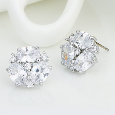 Pair of Chic Zircon Decorated Snowflake Earrings For WomenEarrings<br>Pair of Chic Zircon Decorated Snowflake Earrings For Women<br><br>Earring Type: Stud Earrings<br>Gender: For Women<br>Style: Trendy<br>Shape/Pattern: Others<br>Length: 1.3CM<br>Weight: 0.040KG<br>Package Contents: 1 x Earring(Pair)