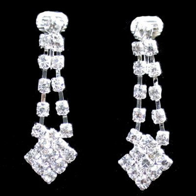 A Suit of Luxury Rhinestoned Square Tassel Necklace and Earrings For WomenNecklaces &amp; Pendants<br>A Suit of Luxury Rhinestoned Square Tassel Necklace and Earrings For Women<br><br>Item Type: Pendant Necklace<br>Gender: For Women<br>Material: Rhinestone<br>Style: Noble and Elegant<br>Shape/Pattern: Geometric<br>Length: 50CM-55CM(Necklace)/4CM-6CM(Earring)<br>Weight: 0.074KG<br>Package Contents: 1 x Necklace 1 x Earring(Pair)