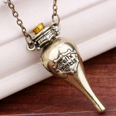 Harry Potter Felixfelicis Costume Pendant Necklace
