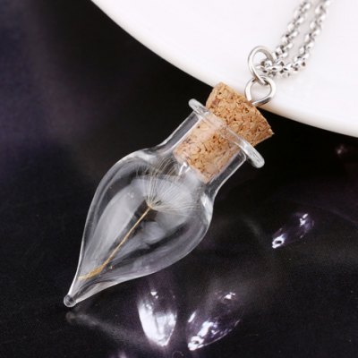 Simple Style Dandelion Cone Shape Necklace For Women