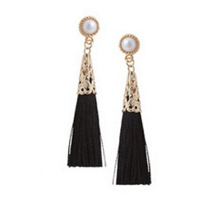 Pair of Classic Hollow Out Tassel Earrings For WomenEarrings<br>Pair of Classic Hollow Out Tassel Earrings For Women<br><br>Earring Type: Drop Earrings<br>Gender: For Women<br>Style: Classic<br>Shape/Pattern: Others<br>Length: 5.5CM<br>Weight: 0.04KG<br>Package Contents: 1 x Earring (Pair)